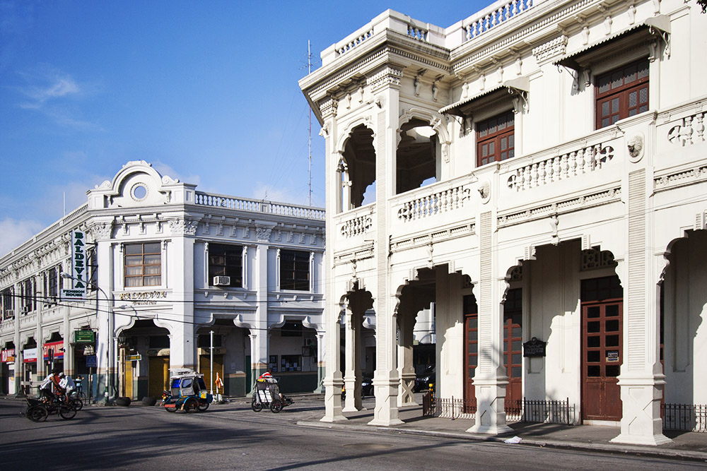 Old buildings in Silay City