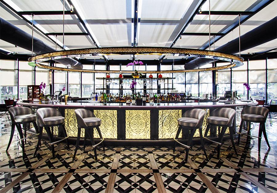 Spiral Restaurant bar
