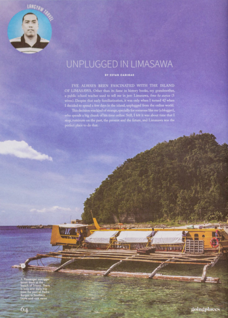 Going Places - Limasawa